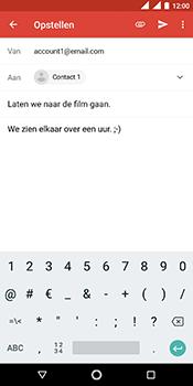 Nokia 5.1 - E-mail - hoe te versturen - Stap 9