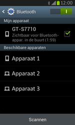 Samsung S7710 Galaxy Xcover 2 - bluetooth - aanzetten - stap 7