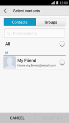 Huawei Ascend Y550 - E-mail - Sending emails - Step 6