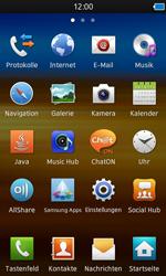Samsung Wave 3 - SMS - Manuelle Konfiguration - 3 / 9