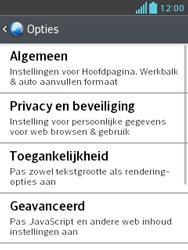 LG E430 Optimus L3 II - Internet - Handmatig instellen - Stap 21