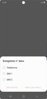 Samsung Galaxy Note 10 - Contact, Appels, SMS/MMS - Ajouter un contact - Étape 5