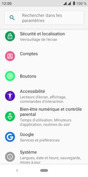 Crosscall Core M4 - Sécuriser votre mobile - Personnaliser le code PIN de votre carte SIM - Étape 4