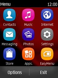 Nokia Asha 300 - MMS - Sending pictures - Step 2
