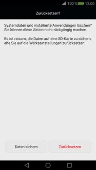 Huawei Mate S - Fehlerbehebung - Handy zurücksetzen - 9 / 10
