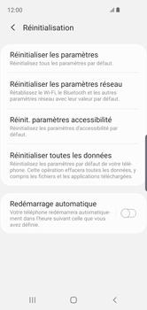 Samsung Galaxy S10e - Téléphone mobile - Réinitialisation de la configuration d