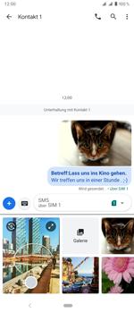 Sony Xperia 1 - MMS - Erstellen und senden - Schritt 23