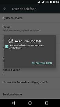 Acer Liquid Zest 4G Plus DualSim - Toestel - Software update - Stap 7