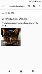 Sony Xperia XZ - Android Oreo - E-mail - envoyer un e-mail - Étape 15