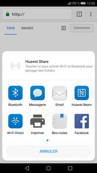 Huawei Mate 9 - Internet et roaming de données - Navigation sur Internet - Étape 21