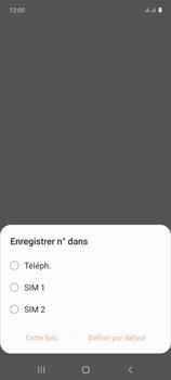 Samsung Galaxy A71 - Contact, Appels, SMS/MMS - Ajouter un contact - Étape 5