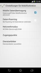 Sony Xperia M2 - Netzwerk - Netzwerkeinstellungen ändern - 6 / 8