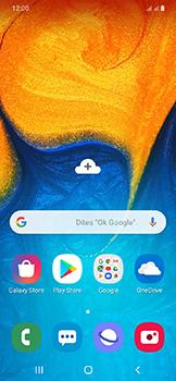Samsung Galaxy A20e - Contact, Appels, SMS/MMS - Envoyer un MMS - Étape 1