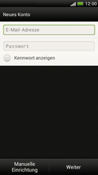 HTC Z520e One S - E-Mail - Konto einrichten - Schritt 6