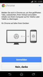 Sony Xperia Z3 Compact - Internet und Datenroaming - Verwenden des Internets - Schritt 5