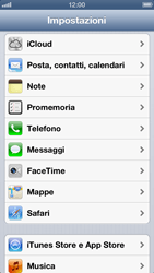 Apple iPhone 5 - E-mail - Configurazione manuale - Fase 7
