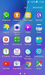 Samsung J120 Galaxy J1 (2016) - E-mail - Configuration manuelle (outlook) - Étape 3