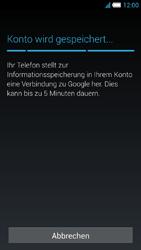 Alcatel Idol S - Apps - Konto anlegen und einrichten - 21 / 25