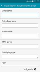Samsung G850F Galaxy Alpha - E-mail - Account instellen (IMAP zonder SMTP-verificatie) - Stap 8