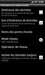 HTC A7272 Desire Z - Internet - configuration manuelle - Étape 6
