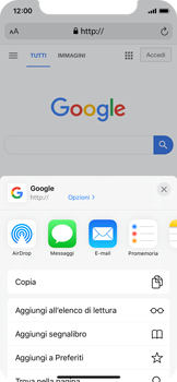 Apple iPhone 11 Pro - Internet e roaming dati - Uso di Internet - Fase 6