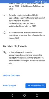 LG G6 - Apps - Konto anlegen und einrichten - 14 / 22