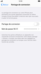 Apple iPhone 8 - iOS 13 - Internet - Configurer un point d'accès mobile - Étape 6