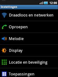 Samsung S5570 Galaxy Mini - Buitenland - Bellen, sms en internet - Stap 4