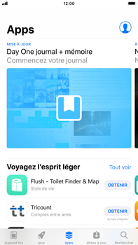 Apple iPhone 8 Plus - iOS 12 - Applications - Télécharger des applications - Étape 7