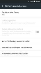 HTC One A9s - Fehlerbehebung - Handy zurücksetzen - 8 / 11