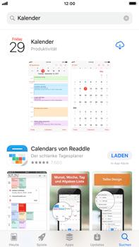 Apple iPhone 8 Plus - Apps - Löschen und wiederherstellen von vorinstallierten iOS-Apps - 1 / 1