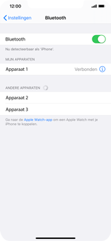 Apple iPhone XR - iOS 13 - Bluetooth - koppelen met ander apparaat - Stap 8
