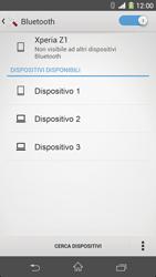 Sony Xperia Z1 - Bluetooth - Collegamento dei dispositivi - Fase 6
