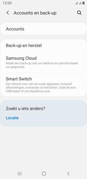 Samsung galaxy-j6-sm-j600fn-ds-android-pie - Instellingen aanpassen - Back-up maken in je account - Stap 5