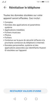 Huawei Y5P - Aller plus loin - Restaurer les paramètres d'usines - Étape 6