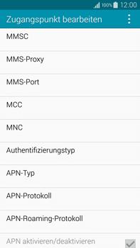 Samsung Galaxy Note 4 - MMS - Manuelle Konfiguration - 12 / 20