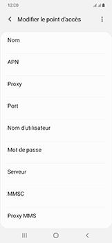 Samsung Galaxy A20e - MMS - configuration manuelle - Étape 10