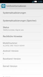 Alcatel One Touch Idol S - Software - Installieren von Software-Updates - Schritt 6