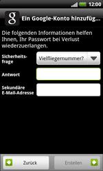 HTC X315e Sensation XL - Apps - Konto anlegen und einrichten - Schritt 11