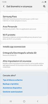 Samsung Galaxy Note 20 Ultra 5G - Operazioni iniziali - Come abilitare il pin della SIM - Fase 5