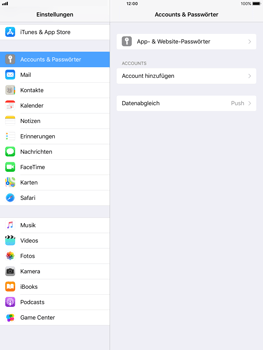 Apple iPad Air - E-Mail - Konto einrichten (gmail) - 0 / 0