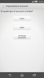 Sony Xperia Z2 - E-mail - configurazione manuale - Fase 7