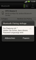 HTC Desire X - Bluetooth - Verbinden von Geräten - Schritt 7
