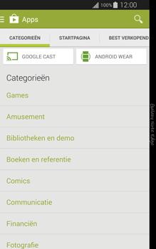 Samsung Galaxy Note Edge - apps - app store gebruiken - stap 6