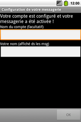 Alcatel OT-991 Smart - E-mail - Configuration manuelle - Étape 18
