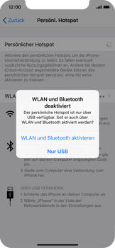 Apple iPhone X - Internet - Mobilen WLAN-Hotspot einrichten - 8 / 9