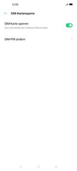 Oppo Find X2 - Startanleitung - So aktivieren Sie eine SIM-PIN - Schritt 9