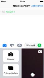 Apple iPhone SE - iOS 10 - MMS - Erstellen und senden - Schritt 13