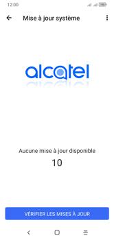 Alcatel 1S (2020) - Aller plus loin - Mettre à jour le logiciel interne de votre mobile - Étape 9