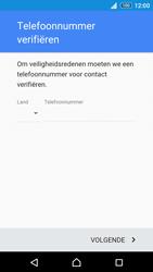 Sony Xperia Z3+ (E6553) - apps - account instellen - stap 7